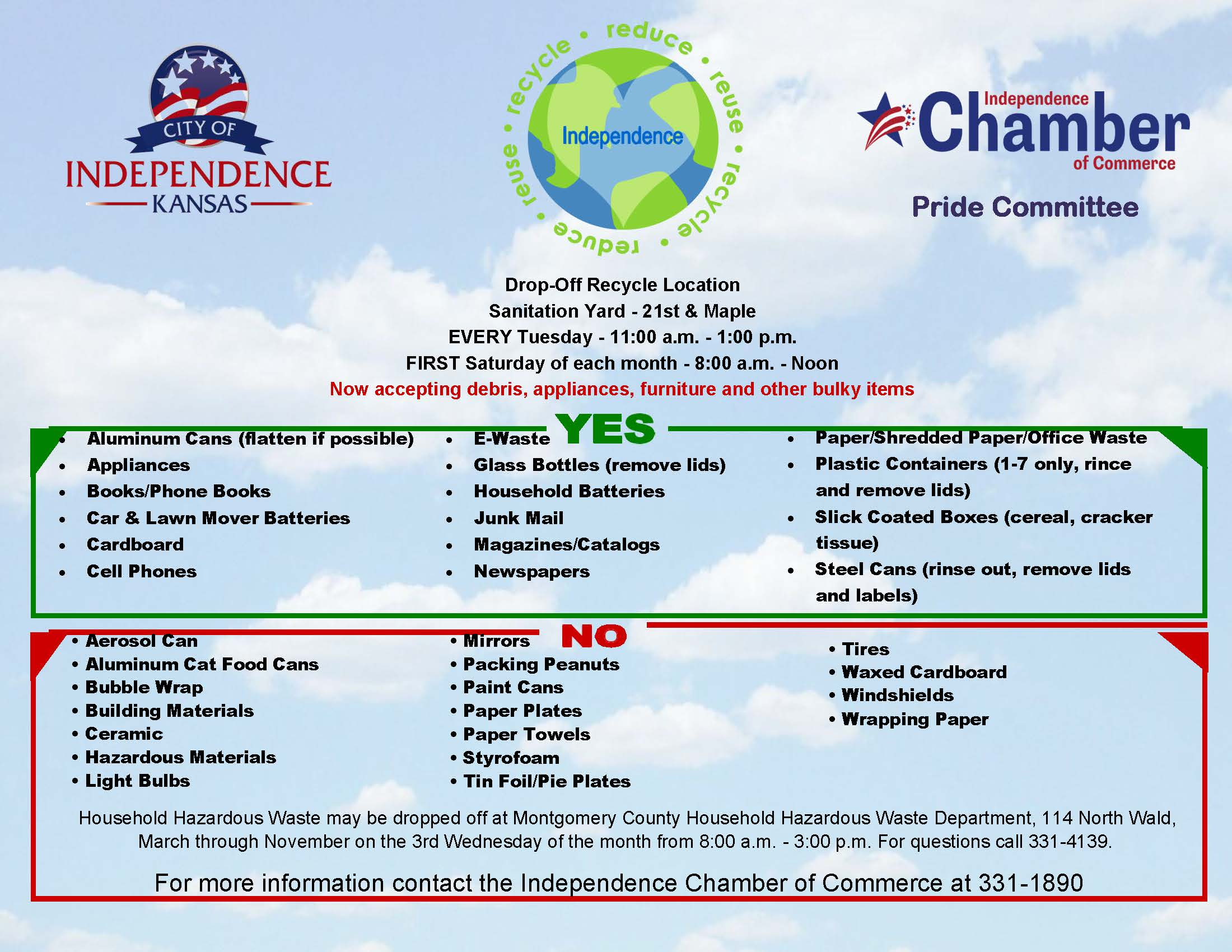 Recycling Flyer Updated 020420 NEW